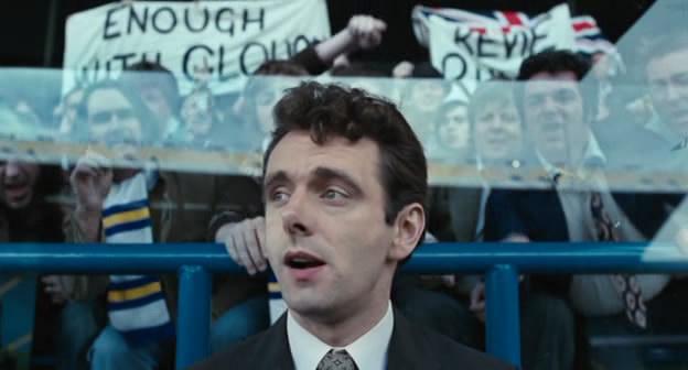 O Michael Sheen στον ρόλο του Κλαφ σε μια απ' τις 44 ανυπόφορες μέρες του στη Λιντς.