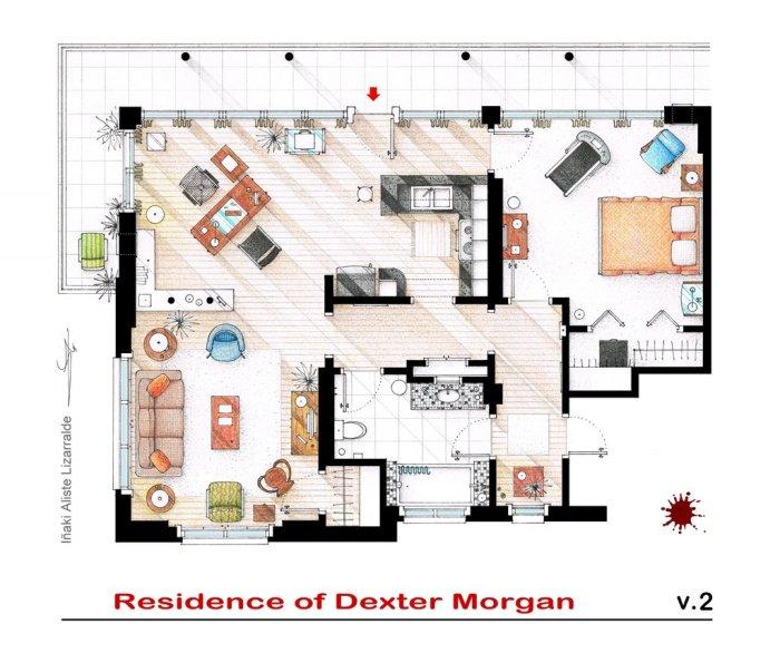 Το σπίτι του Dexter από το Dexter
