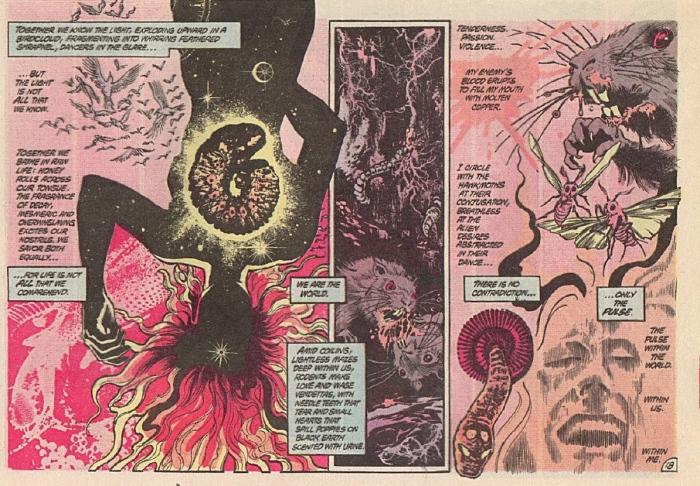 "Swamp Thing #34 ""Rite of Spring: Ο έρωτάς σου μια πληγή και τρεις κραυγές"