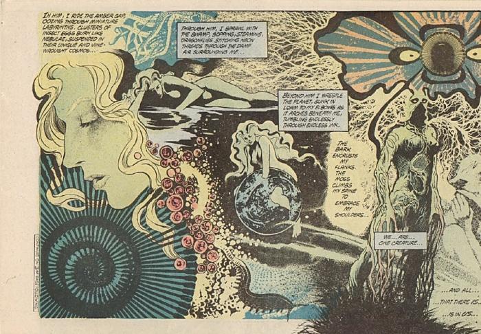 "Swamp Thing #34 ''Rite of Spring"": Θαλασσοκόρη του βυθού χίλιες οργιέςτου Ποσειδώνα εγώ σε κέρδισα στο ζάρι"