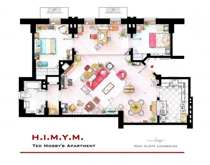 Το σπίτι του Ted Mosby από το How I Met your Mother