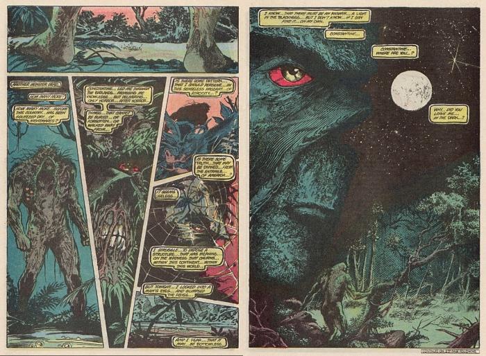 "Swamp Thing #44 ""Bogeymen"": Κι εἶδα μία ἐμένα νὰ κοιτᾶ μὲ μάτι ἀγριεμένο"