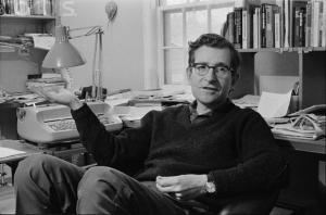 """""""Η μετατροπή του ευθέος λόγου σε πλάγιο δυσχεραίνει την γλωσσική κατάκτηση, η οποία έρχεται σε μια συγκεκριμένη ηλικία, αλλά όχι αργότερα. Επομένως, αν είστε δώδεκα ετών και δεν ξέρετε τι σημαίνει """" γλώσσησι δνοφερῇσι λελεῖχθαι"""" drop it"""" Noam Chomsky, 1972"""