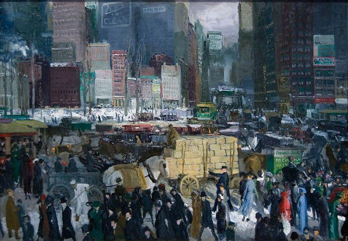 George Bellows, New York