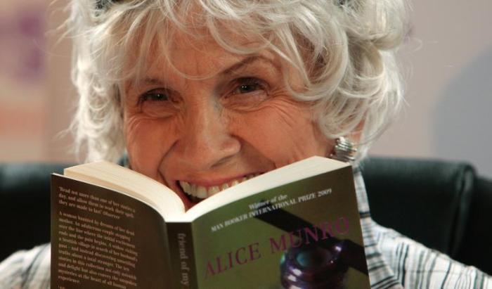 Η 82χρονη Καναδή Alice Munro.