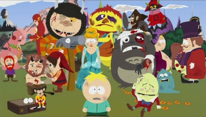 Butters in Imaginationland