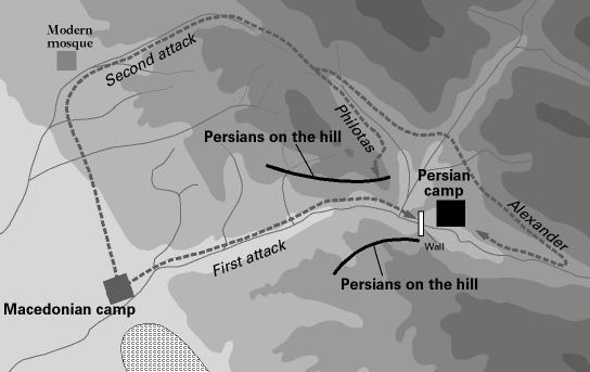 persian gates map