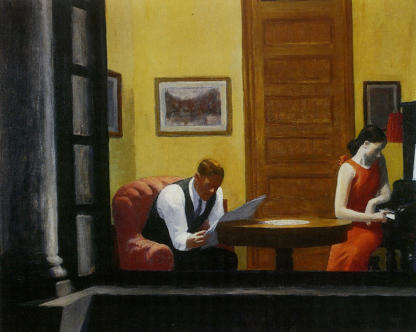 A room in New York (1932)- του Edward Hopper (1882-1967)